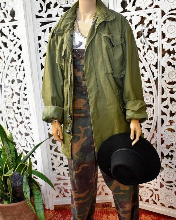 RAD vintage army parka jacket