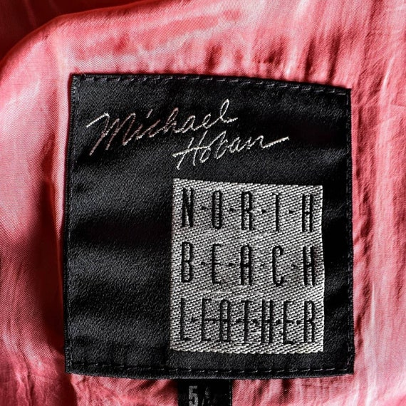 INSANE Michael Hoban for North Beach Leather jack… - image 2