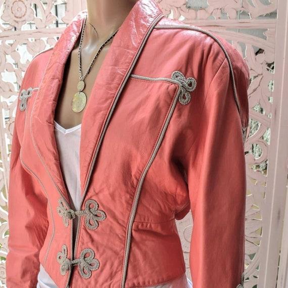 INSANE Michael Hoban for North Beach Leather jacke