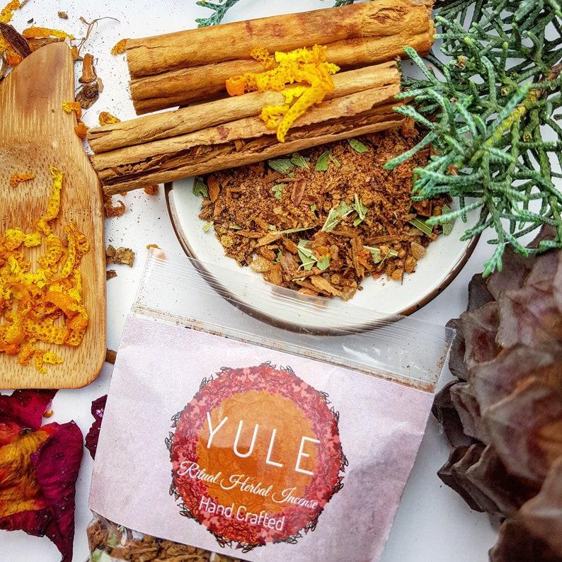 Yule Ritual Herbal Incense 8gms