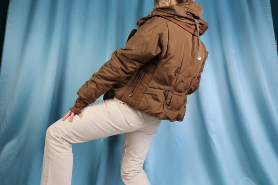 Puffer Jacket ESCADA Vintage 80s Winter Top