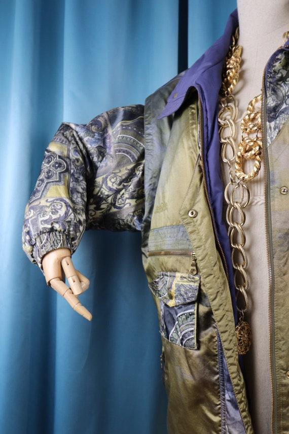Puffer jacket Coat Lilac 80s vintage