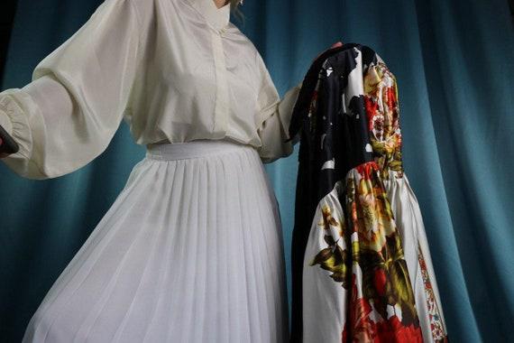 Velvet Opera Coat 80s Black Anna Sui