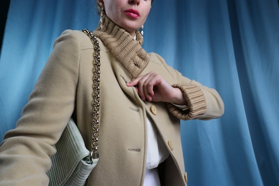 MOSCHINO wool coat Mid length 1990s