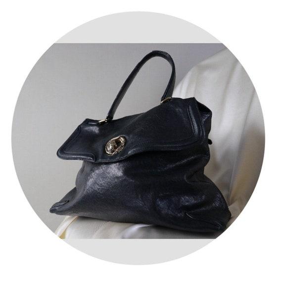 Roberto CAVALLI bag Black genuine leather handbag