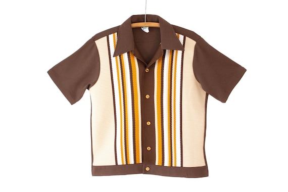 1970's Button Down Short Sleeve Shirt | Retro Dagg