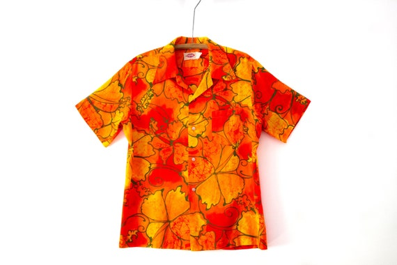1960's Vintage Pomare Authentic Hawaiian Shirt | H