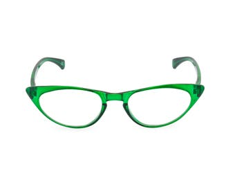2668aa726592 1950s 60s style Emerald Green CAT EYE Rxable frame or reading glasses clear  to +3.00 NEW to original vintage design best seller  Peggy
