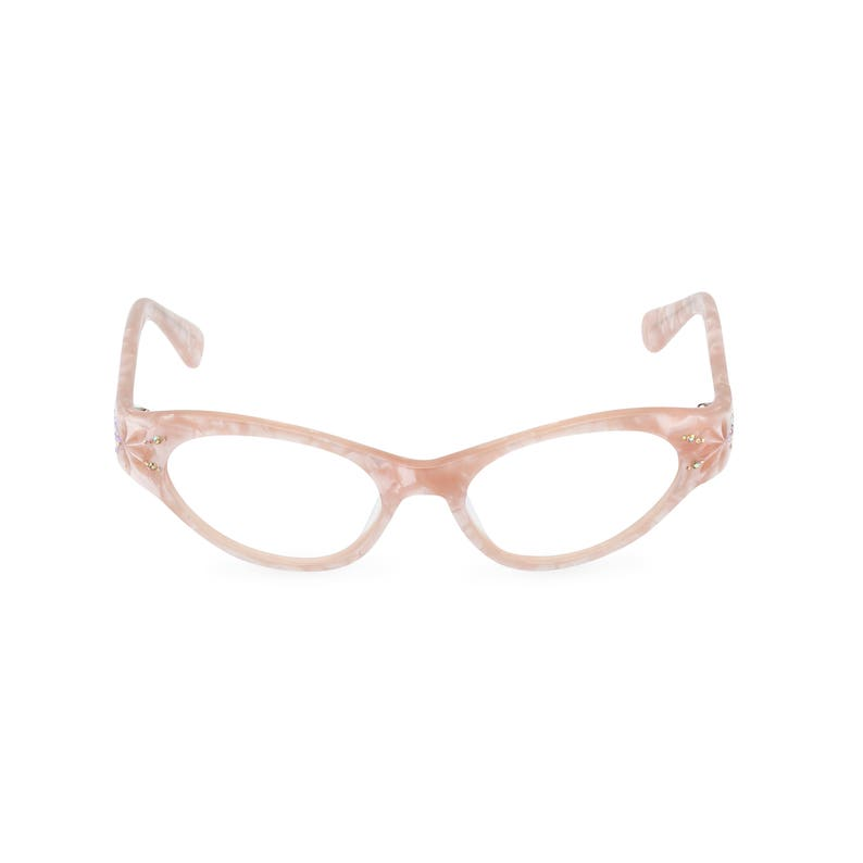 94f97585be9 1950s style cat eye glasses  GLORIA  Sunset Pearl