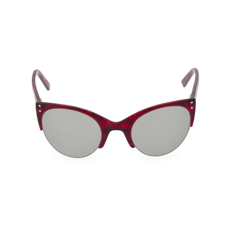 1950s Sunglasses & 50s Glasses | Retro Cat Eye Sunglasses ELLA Red Volcano cat eye sunglasses classic vintage upswept 1950s late 1940s style Remodelled from original found pair $38.25 AT vintagedancer.com
