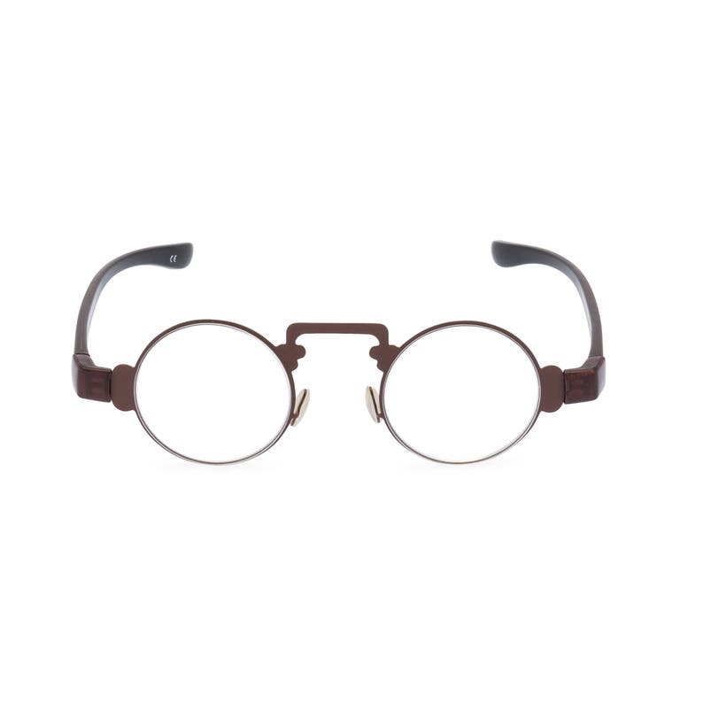 Steampunk Accessories | Goggles, Gears, Glasses, Guns, Mask Glorious eye essentials PHILEAS for Steampunk Victorian gentlemen and ladies. Reproduction Oriental reading glasses $18.46 AT vintagedancer.com