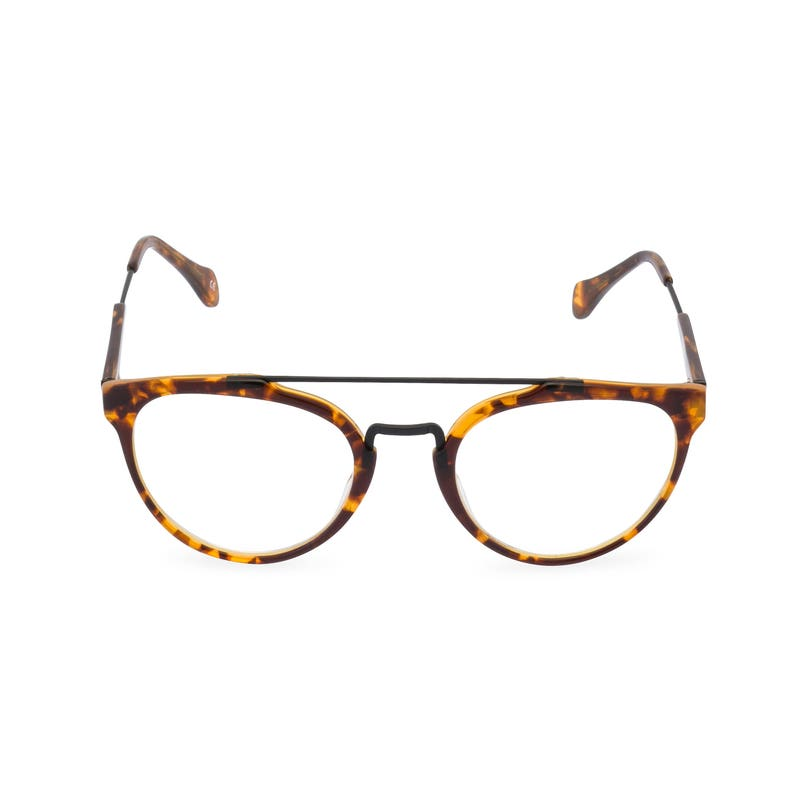 1930s Men's Clothing Handmade Ltd EditionRaffles Mens double bridge Amber acetate & black wire rim spectacles a very dapper 1930s/40s style $78.46 AT vintagedancer.com