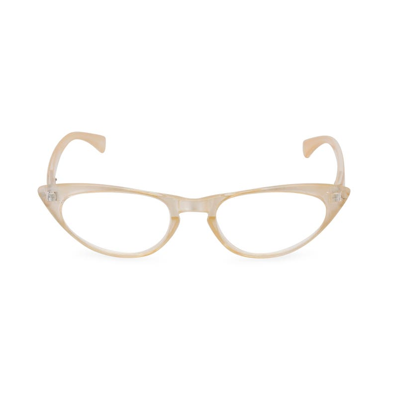 40a414ebd2d 1950s 60s style Pearl CAT EYE Rxable frame or reading glasses