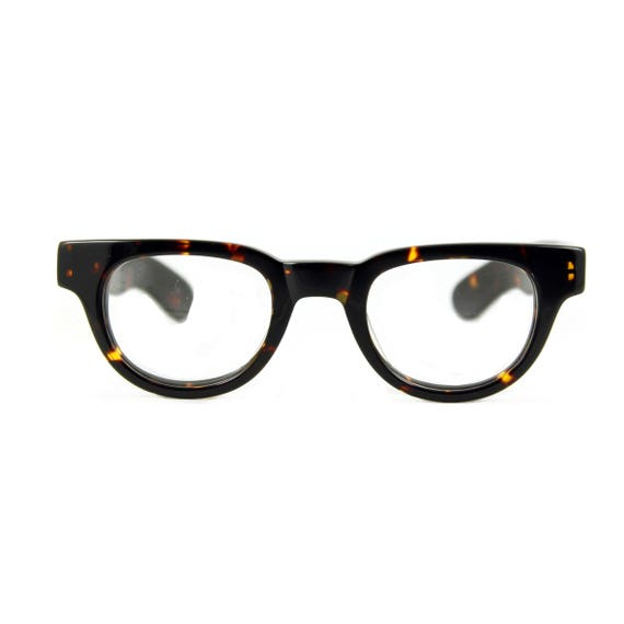 1940s Mens Clothing 1940s ARKITEKTA Demi Ambermens eyeglasses $66.74 AT vintagedancer.com