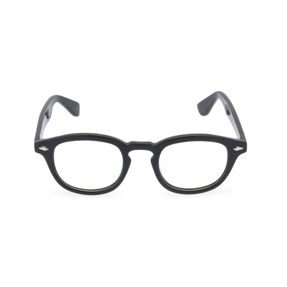 1950s Men's Clothing 1950s style HANDMADE mens spectacles JD Almost Black [Dark Grey] $61.29 AT vintagedancer.com