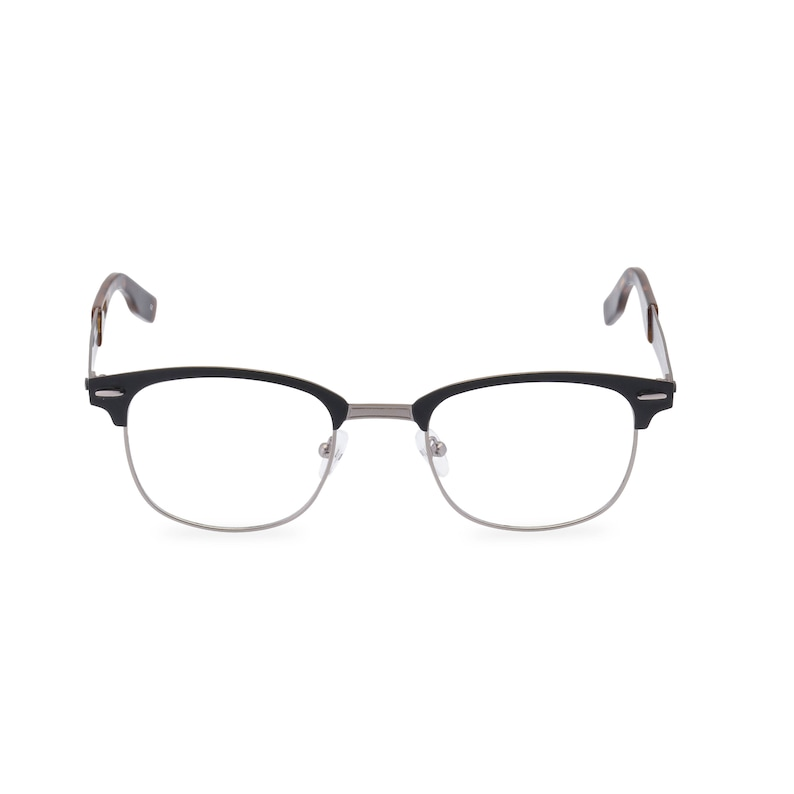 1960s Sunglasses | 70s Sunglasses, 70s Glasses Classic 1950s 60s vintage style mens spectacles HANSON Gunmetal Black Metal acetate reading glasses & Rx ready Made to Original design $59.95 AT vintagedancer.com