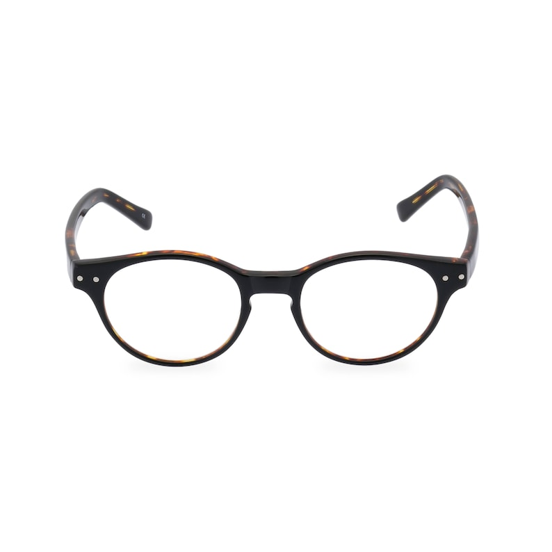 1940s Jewelry Styles and History Classic 40s style HANDMADE spectacles MILLER in Black Tortoise for men & women. Unique double layer Italian acetate.Rx Frame or readers $59.35 AT vintagedancer.com