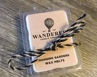 Hanging Gardens - 100% Soy Wax Melts