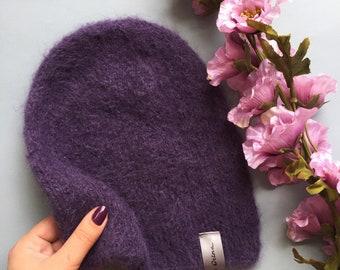 "Mohair hat ""Violet"""