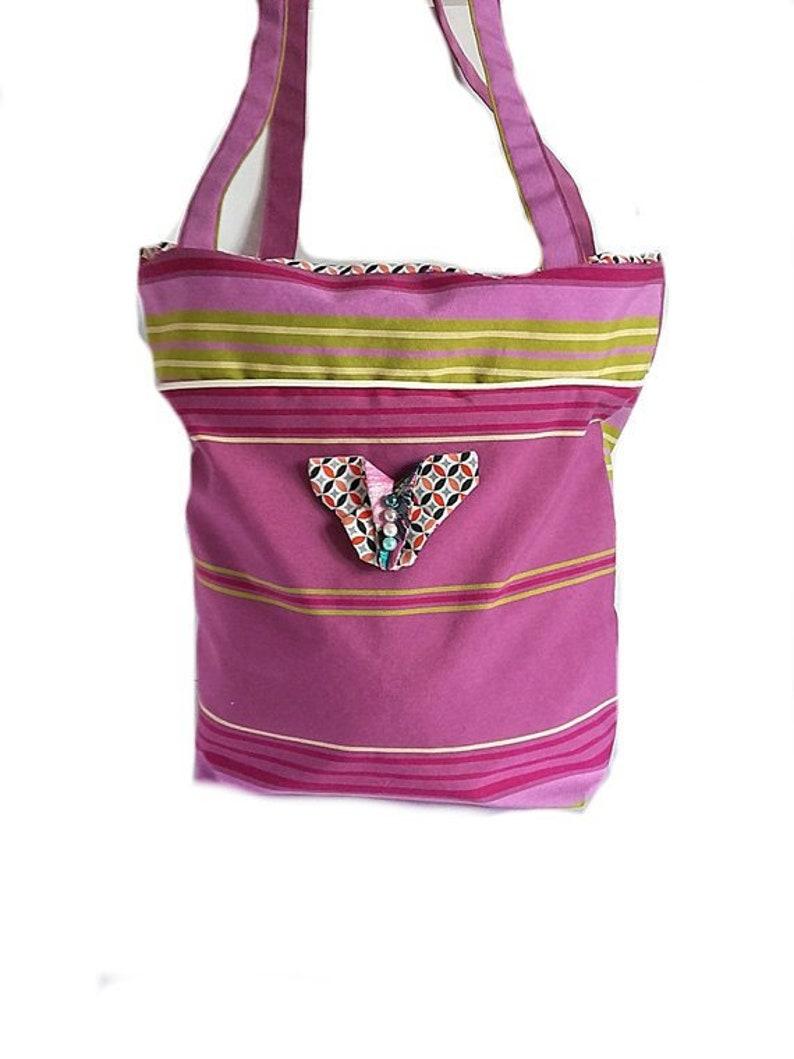 ed43e8fde1 Sac femme toile mauve sac à l épaule sac cabas sac de | Etsy