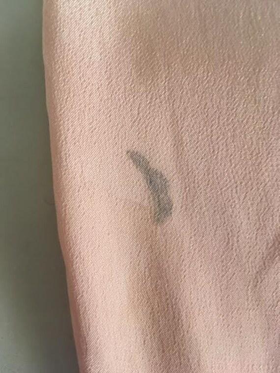 AUTUMN SALE Authentic vintage 1920s pink silk lou… - image 9