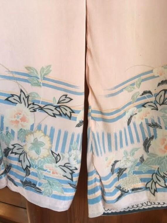 AUTUMN SALE Authentic vintage 1920s pink silk lou… - image 6