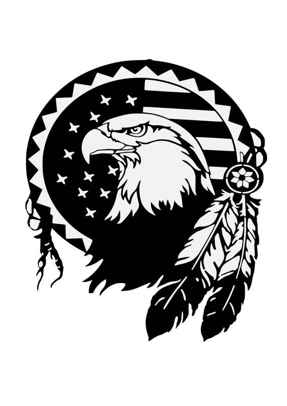 Eagle Svgfeatherspatriotic Svgamerican Eagle Svg 4th Of Etsy