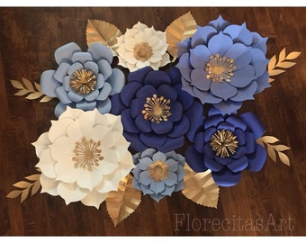 Paper flower backdrop etsy mightylinksfo