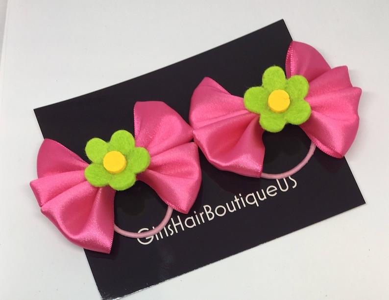 Party Accessory Pink Ponytail Headband