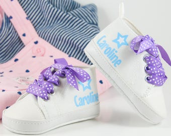 Baby Girl Shoes, Personalized Baby Shoes, Baby Shoes, Infant Shoes, Soft sole, Baby Gifts, Personalized Baby Gift