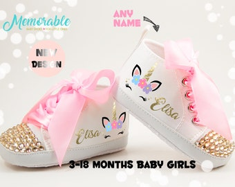 Baby girl shoes | Etsy