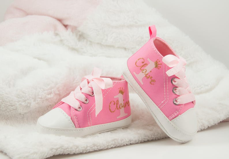 c995a48c2fc First Birthday Outfit Girl Baby Girl Shoes new born shoes Girl