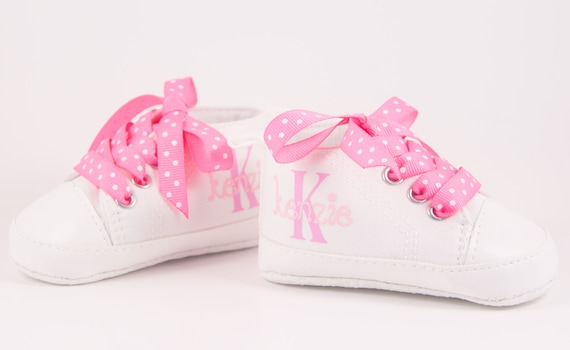 White sneakers Baby Girl Shoe