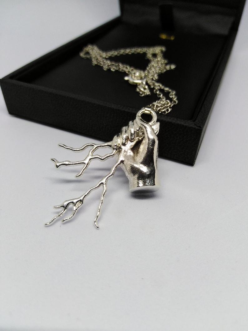 Lighning Pendant Thunder Necklace Zeus Pendant Ancient Greek Mythology Lightning Necklace God of Thunder Pendant Thunder Pendant