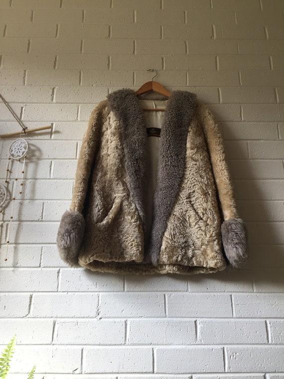 Vintage Penny Lane Fur Coat | 70s | Sheepskin | Bo