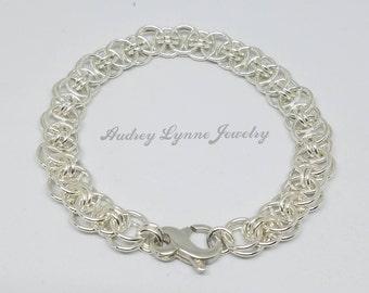 Helms Weave Bracelet - Sterling Silver