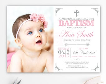 Christening invites Etsy