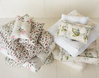 Newborn Mattress and Pillow, Newborn Mattress Prop, Newborn Photography Props,Newborn Posing Pillow Props,Newborn Photography Mattress Props