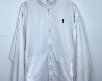 40805ced Vintage 90s Nike Challenge Court Windbreaker Zipped Jacket Size XL Oversized