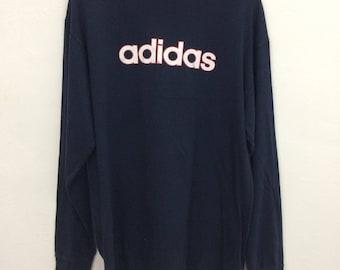 Vintage Adidas Long Sleeve T Shirt Size L