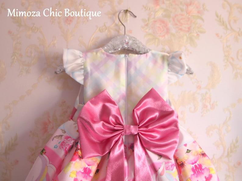 Unicorn Birthday Dress unicorn girls dress