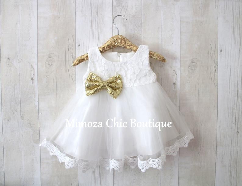 c908e8d0f Baby Flower Girl Dress infant girl dress birthday girl