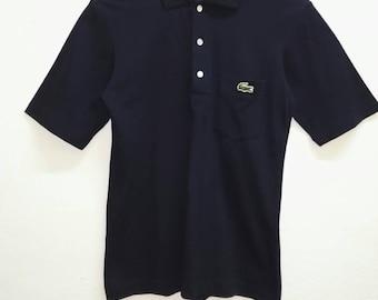 Vintage Lacoste T-shirts Polo Blue colour Good Condition 9e30837481