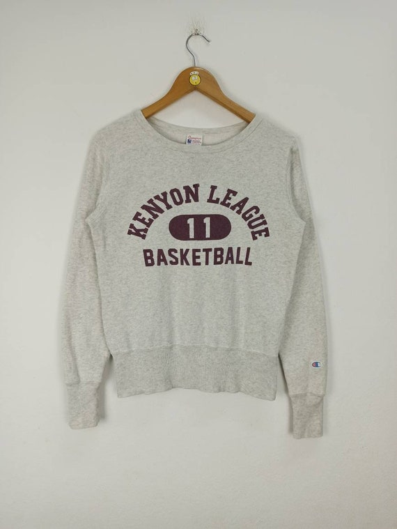 Vintage 50's Champion Kenyon League Basketball Swe