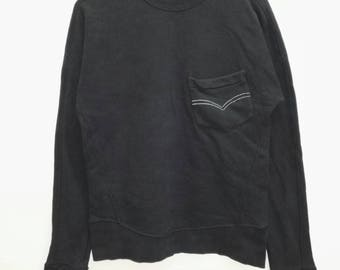 Vintage Sweatshirt LEVIS black colour nice design