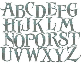 picture relating to Printable Old English Letters referred to as Alphabet letters Etsy
