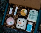 Gift for her Personalized Spa Gift Box Gnome Gifts Vegan Gifts Self Care Box