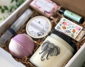 Boho | Gift for Friend | Mothers Day Ideas | Spiritual Gift Ideas | Elephant Spa Box | Bohemian | Hippie Present | Mother's Day | Trending
