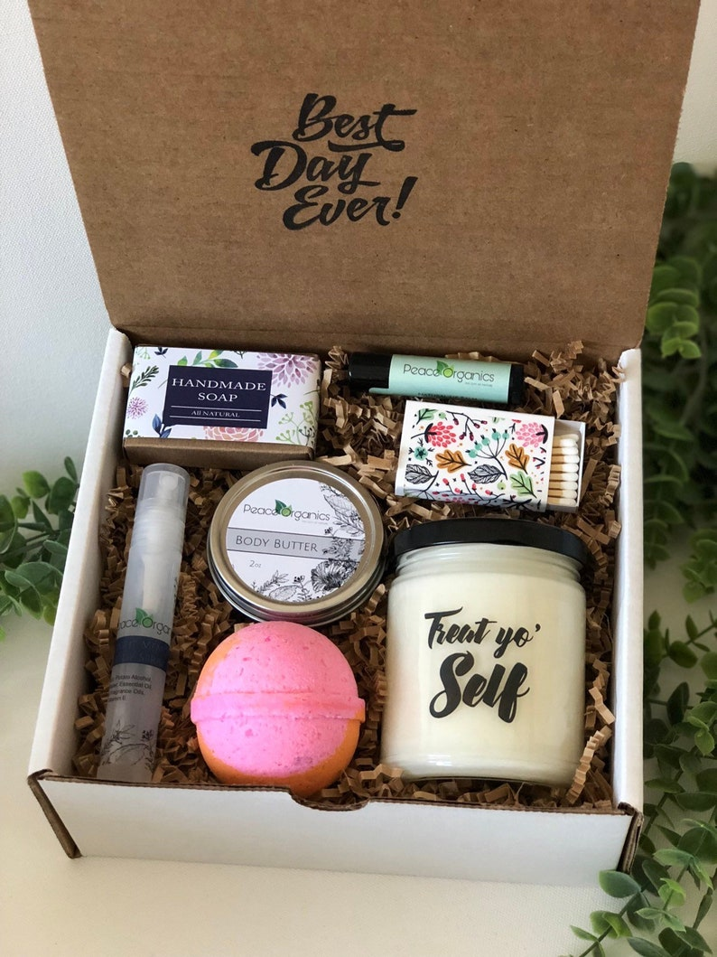 Birthday Gift Box For Her Self Care Anniversary Set