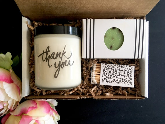 Thank You Gift Box Set Company Gift For Employee Corporate Etsy